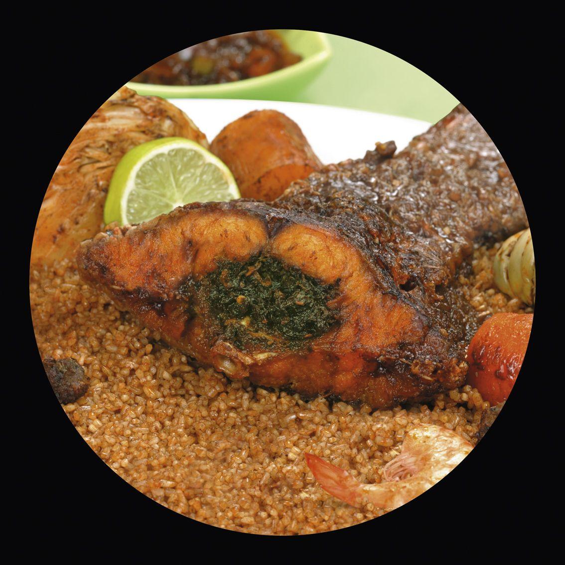 Senegalese riz gras - Recette de cuisine senegalaise ...